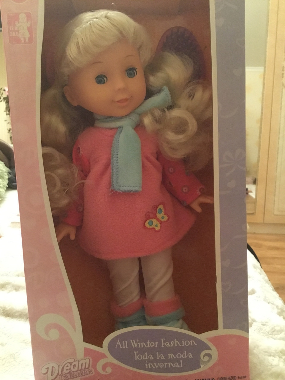Кукла Gigo Toy Зимняя мода 30 см (12522)