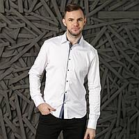 Рубашка мужская белая Semco