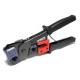 Инструмент MLT-3 (808-376E) для обжимки RJ-45 (8P8C) и RJ-12 / 11 (6P6C) Черные Q10