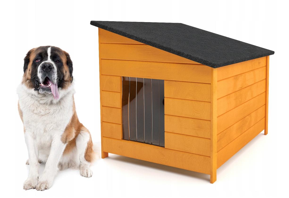 Будка для собаки из дерева Comfort ХХL - 116 х 86 х 96 см