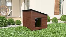 Будка для собаки из дерева Comfort ХХL - 116 х 86 х 96 см, фото 2