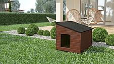 Будка для собаки из дерева Comfort ХХL - 116 х 86 х 96 см, фото 3