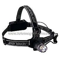 Фонарь Bailong(налобный фонарик) HL905DCR-1W