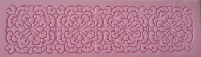 """Текстурный силиконовый коврик для мастики и айсинга""""кружево""""(код 01064)"""