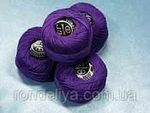 Нитки ірис яскраво-фіолетовий № 112