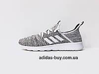 Кроссовки женские оригинальные adidas CLOUDFOAM PURE DB0695 цвет: светло-серый