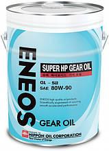 Трансмиссионное масло ENEOS GL-5 80W-90  20лит.