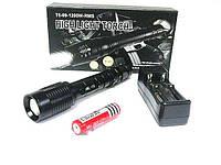 Тактический светодиодный фонарь X3-T6 8000w
