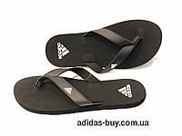 925085e77f4779 Шлепанцы тапки сланцы мужские оригинальные adidas EEZAY ESSENCE CP9872  летние цвет: черный