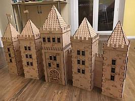 Іграшковий замок-фортеця. Індивідуальний макет
