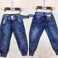 Джинсовые брюки для мальчиков F&D оптом, 74-104 рр.