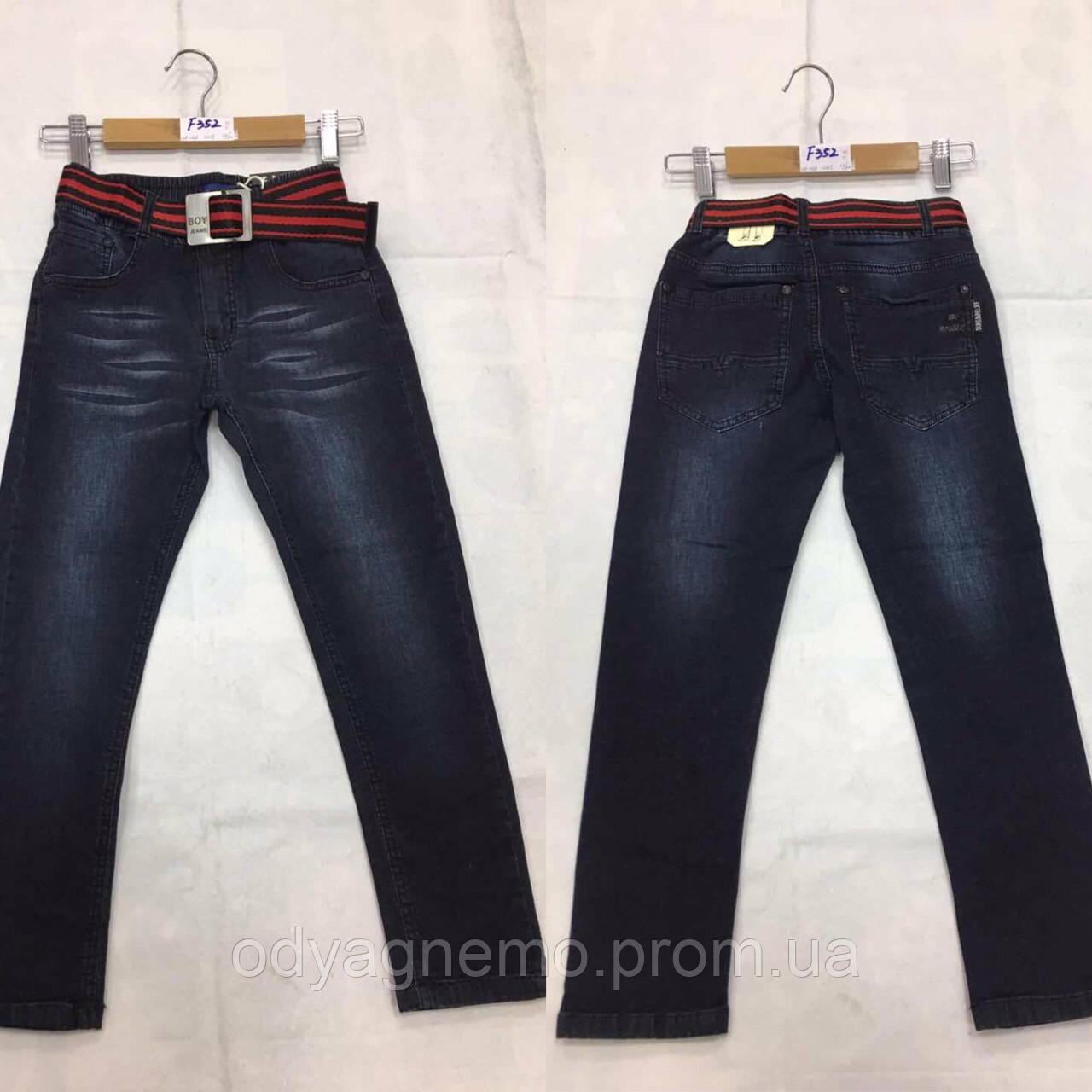 Джинсовые брюки для мальчиков F&D оптом, 116-146 рр.