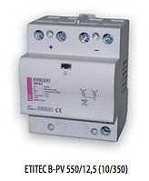 ETITEC B-PV  550/12,5 RC (550V DC, тип T1+T2, 4мод.)