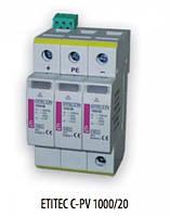 ETITEC C-PV  100/20 (100V DC, тип T2, 2мод.)