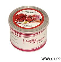 Цукровий віск для епіляції, 500 р. Троянда, Lady Victory LDV WBW-01-09 /5-2