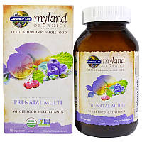 "Мультивитамины для беременных Garden of Life, MyKind Organics ""Prenatal Multi"" (180 таблеток)"