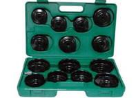 Комплект чашек для съема масленных фильтров 65-100 мм, 14 предметов AI050004 (Jonnesway, Тайвань)