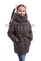 Куртка для девочки на весну от производителя 34-42 хаки 419fedabd9b10