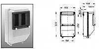 Щит распред. индустр. KOMBI 193x322x158 (IP57)