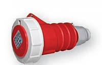 Розетка кабельная NA 63A 380V 3P+N+Z (IP67)