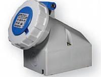 Силовой разъем розетка NVT 16A 220V 2P+Z (IP67)