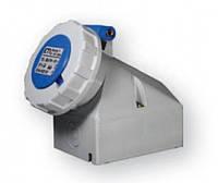 Силовой разъем розетка NVT 32A 380V 3P+N+Z (IP67)