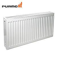 Purmo. Радиатор стальной панельный. 22й тип, боковое подключение.400х1200. Услуги по монтажу, фото 1