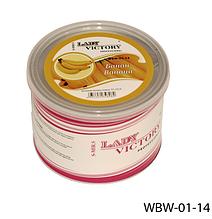 Сахарный воск для эпиляции, 500 г. Банан, Lady Victory LDV WBW-01-14 /5-2