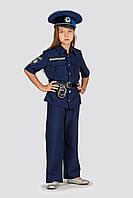 Детский карнавальный костюм Полицейский, рост 104 -140 см