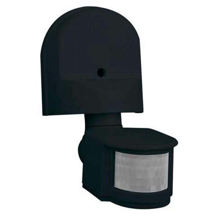 HOROZ Corona HL481 датчик включения света черный настенный накладной IP44
