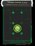 Агроволокно Черно-Белое AGREEN 1,07*100м 2отв в ряд. 50г\м.кв с перфорацией - 4сезона, фото 2