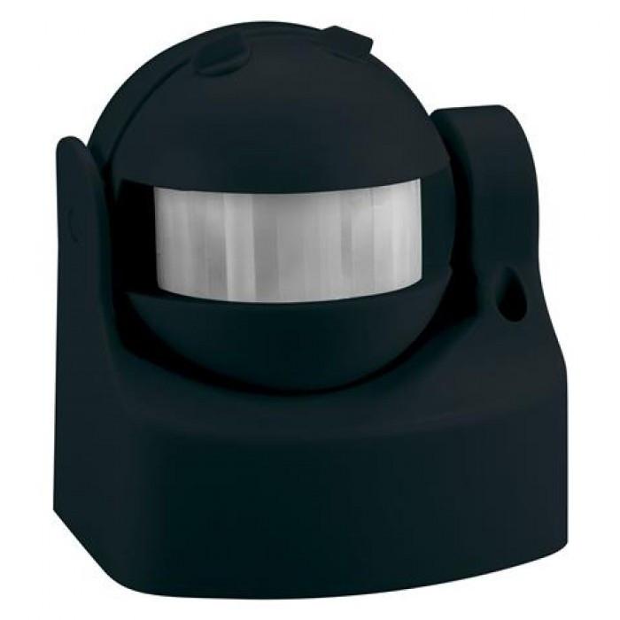 HOROZ Linea HL482 датчик включения света черный настенный накладной IP44