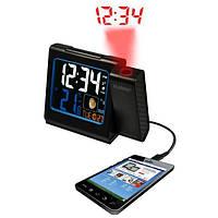 Проекционные часы La Crosse WT551-Black (921500)