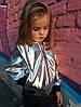 Детская куртка бомбер эко кожа, фото 5