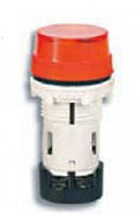 Лампа сигнальная LED матовая TS01U1 24V AC/DC (красная) 58,5мм