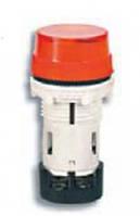 Лампа сигнальная LED матовая TS01W1 110V AC/DC (красная) 58,5мм