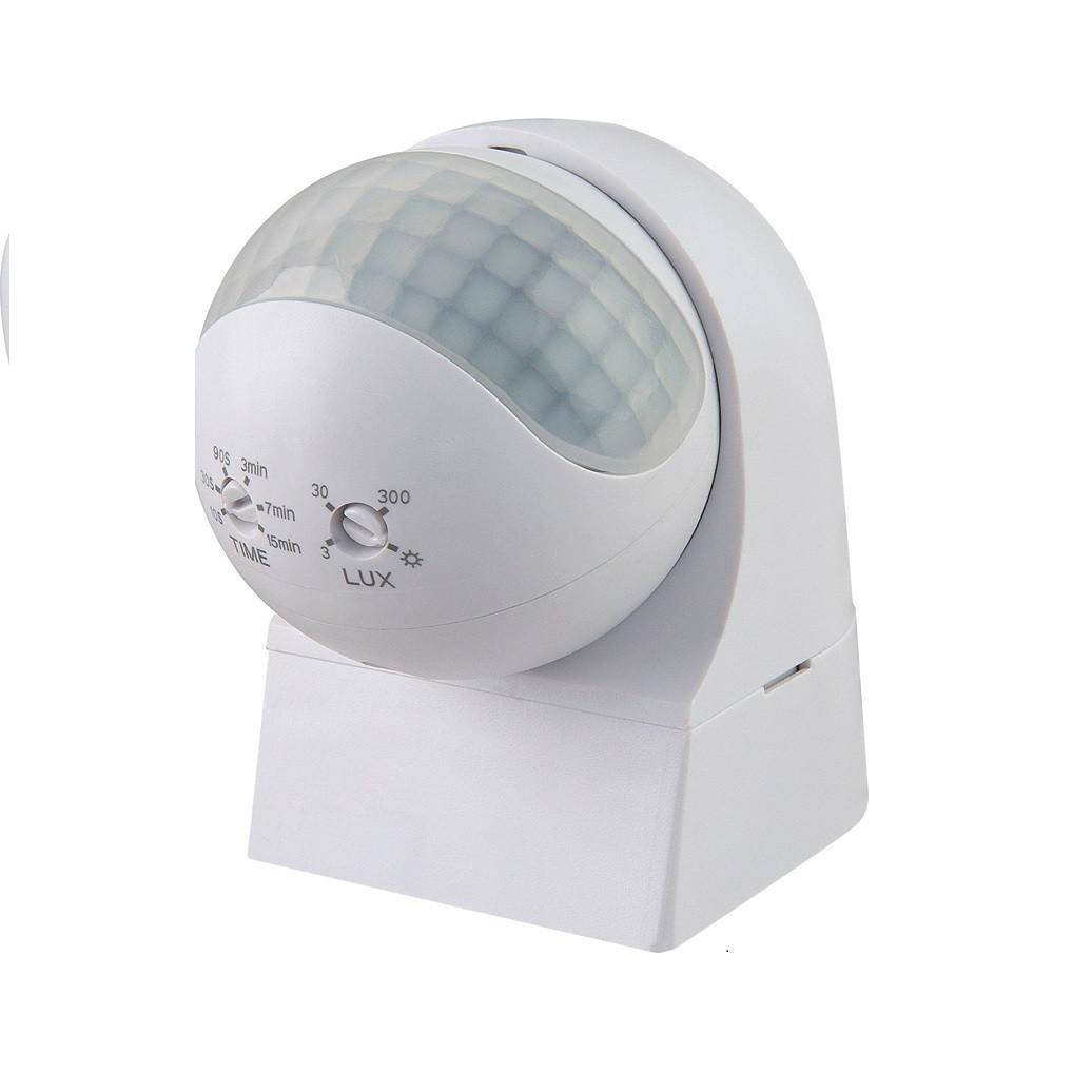 HOROZ Tucson датчик включения света белый настенный накладной IP44
