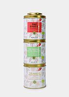 """Подарочный набор из 3 видов органического чая  """" Рождественская коллекция """", 150 гр. Terre d'Oc"""