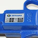 Заслонка поворотная Баттерфляй ZETKAMA Ду100 Ру16 диск чугун тип 497B(С67), фото 6