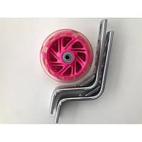 Колёса Дополнительные светящиеся для велос. 12-20дюймов (пластик /металл)