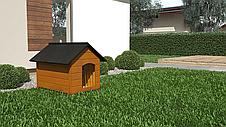 Будка для собаки из дерева Comfort ХL - 104 х 74 х 90 см, фото 3