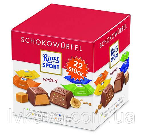 Конфеты шоколадные Ritter Sport Schocowurfel box  , 176 гр, фото 2