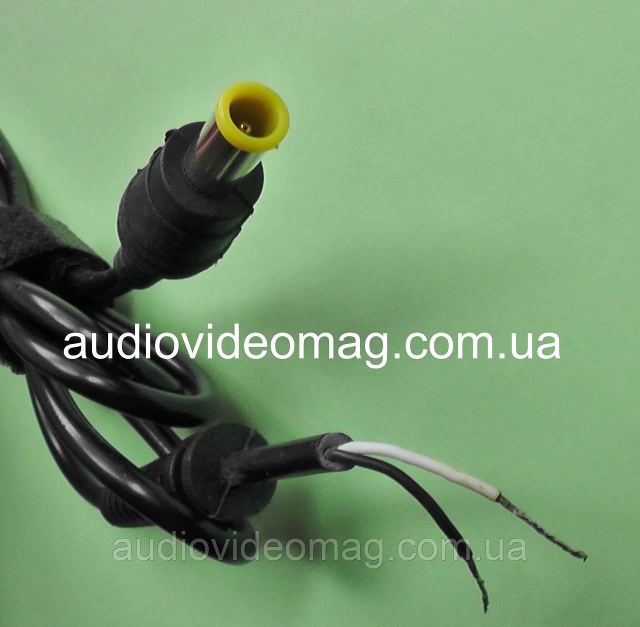 Шнур питания с штекером 6.0-4.4 со штырьком для ноутбуков Sony