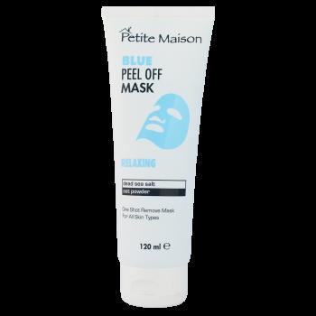 Маска-пленка для лица расслабляющая с экстрактами Мертвого моря 120 мл Petite Maison