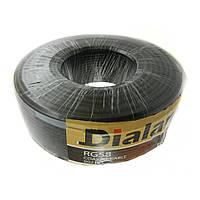 Коаксиальный кабель 50 Ом Dialan RG58U CCS