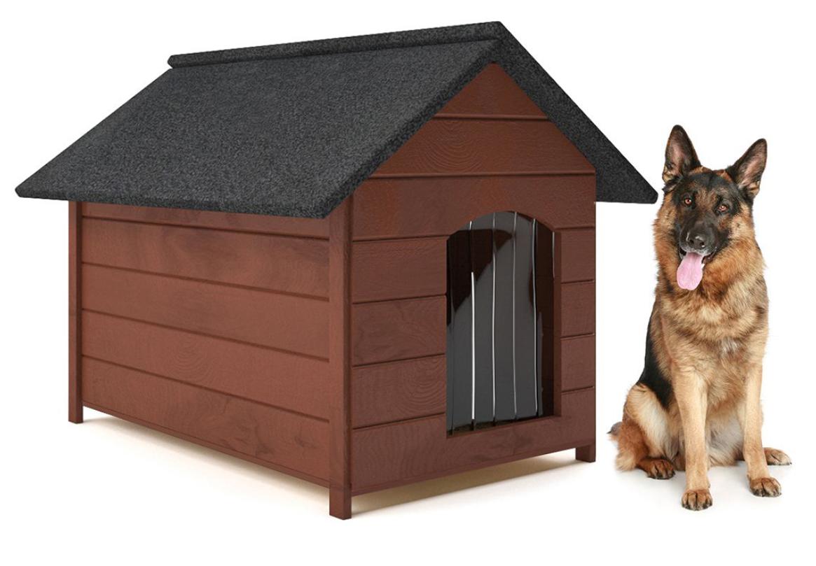 Будка для собаки из дерева Comfort ХL - 104 х 74 х 90 см