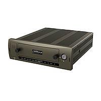 HDCVI видеорегистратор на 4 канала автомобильный Dahua DH-MCVR5104-GCW