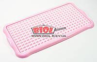 Сушилка (сушка) для посуды и фруктов настольная (цвет - розовый) 40х22х1,5см Hobby Life 1311-3, фото 1