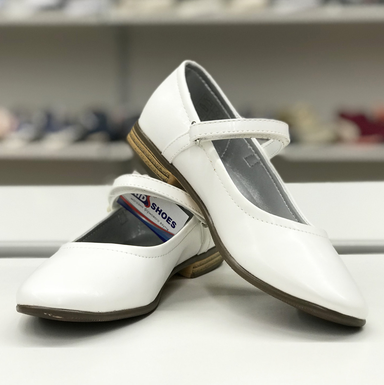 54a71f78a Классические туфельки Friboo (Германия) р 35. школьная детская обувь -  Интернет-магазин