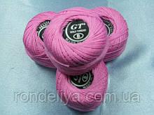 Нитки ірис рожевий № 402